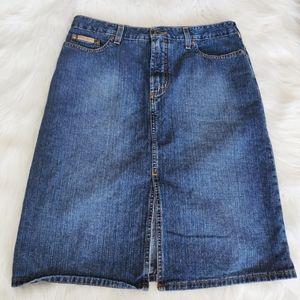 Tommy Jeans vintage denim skirt